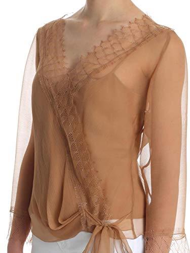 Seta Noisette In blusa A0217 Trasparente Ferretti Alberta 7HpqRp