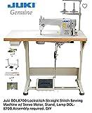 Juki DDL8700 LockStitch Industrial Sewing Machine,Table,Servo Motor,Lamp.DIY