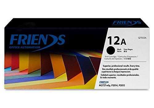 Friends Office Automation 12A Compatible Black Laserjet Toner Cartridge  Q2612A