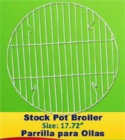 Stock Pot Broiler 17.7 Inches - Parrilla Para Ollas: Amazon.com ...
