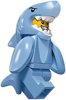 Lego Minifiguras Serie 15 - Hombre con disfraz de tiburon: Amazon ...