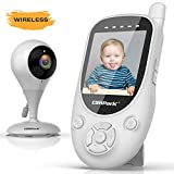 Campark Baby Monitor 2.4GHz Wireless Video Digital Baby Camera with 1000ft Range Transmission Night Vision 2-Way Talk VOX Temperature Sensor and Lullabies