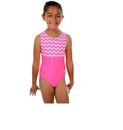 3350e4f24 NEW Snowflake Pink Dazed Gymnastic Dance leotard age 7-8 Years (28 ...