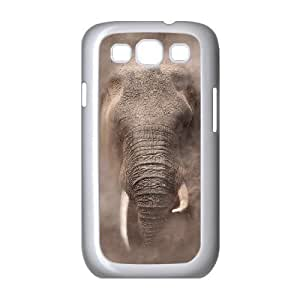 African Elephant Personalized Cover Case with Hard Shell Protection for Samsung Galaxy S3 I9300 Case lxa#820506