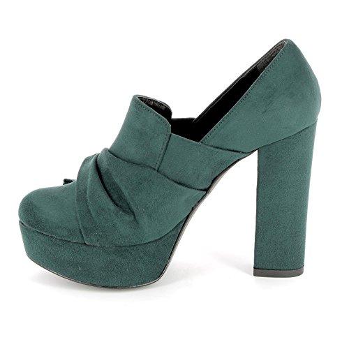 latéral vert à Chaussures noeud talons Alesya Shoes shoes avec By vwq84A