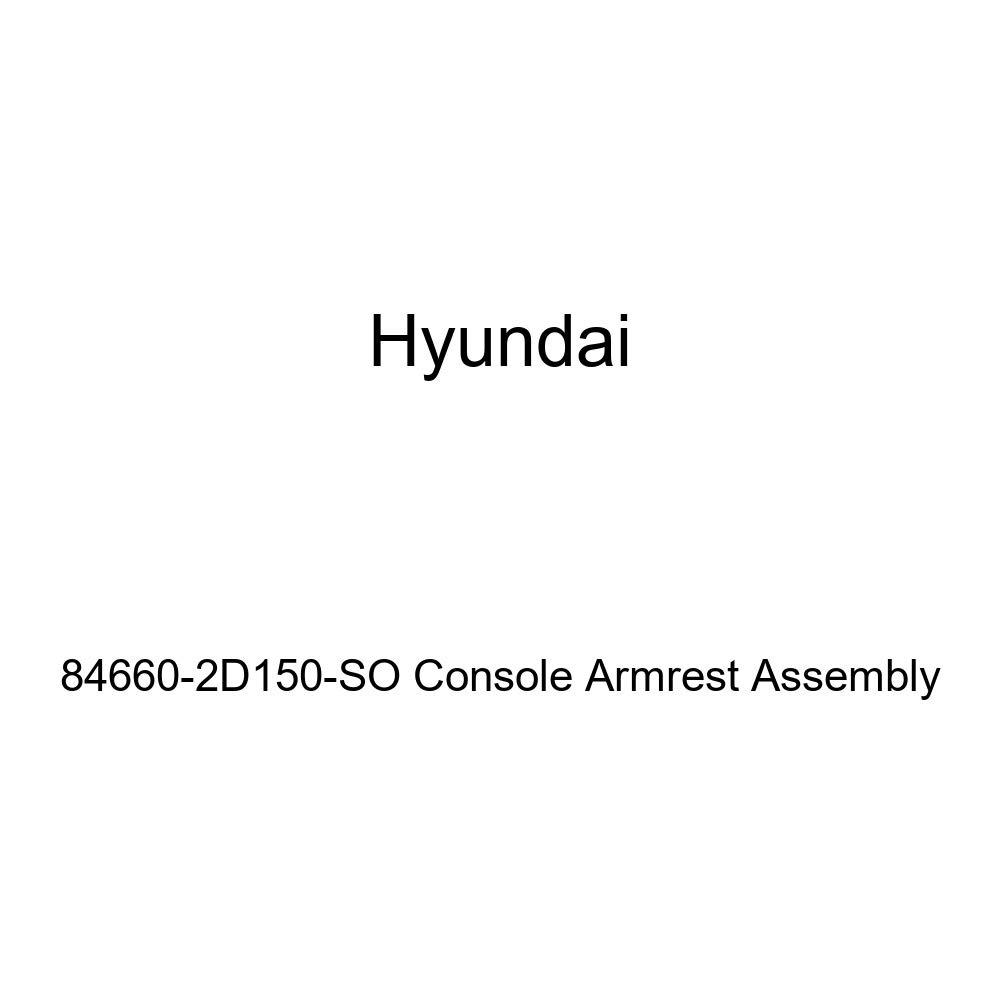 Genuine Hyundai 84660-2D150-SO Console Armrest Assembly