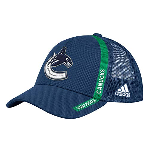 adidas Vancouver Canucks NHL 2018 Authentic Start of Season Cap | Adjustable