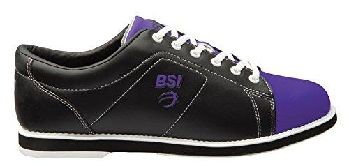 BSI Damen Classic Bowlingschuh Schwarz / Lila