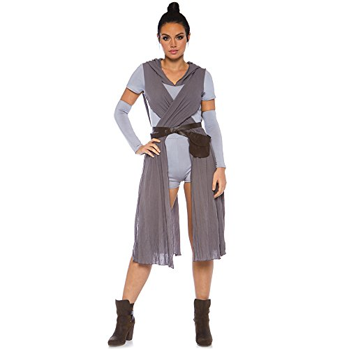 - Leg Avenue Womens Star Galaxy Rebel Halloween Costume, Grey, X-Large