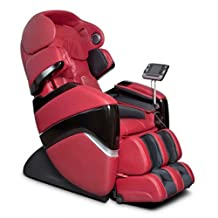 Osaki Pro Series OS-3D Cyber Elite Massage Chair - Comfortable Leather Recliner Seating - Amazing Professional Full Body Therapy - 2 Stage Zero Gravity Features - 9 programs, 36 air bags, 4 Color Options (Red)