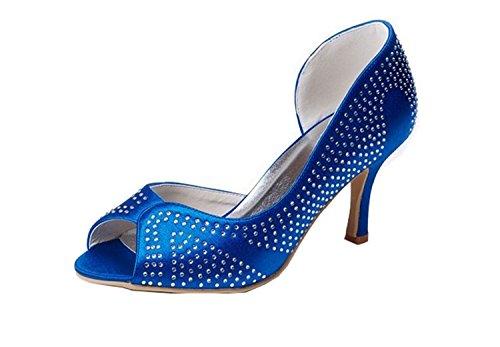 fashion Kevin Fashion mariée 43 femme de azul EU Chaussure Azul Bleu rIBqIU