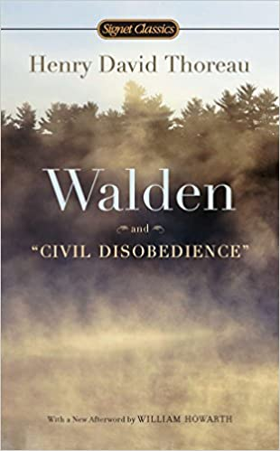 com walden and civil disobedience henry  com walden and civil disobedience 8601400264690 henry david thoreau w s merwin william howarth books