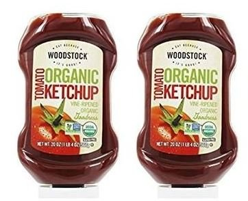 Woodstock Farms Organic Tomato Ketchup 20 Ounces (2 Pack)