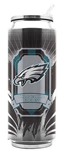 Thermos Stainless Steel Eagles (Philadelphia Eagles Stainless Steel Thermo Can - 16.9 ounces)