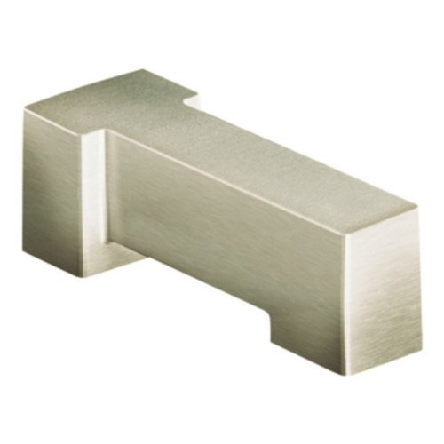 (Moen S3898BN 90-Degree Non Diverter Spout, Brushed Nickel)