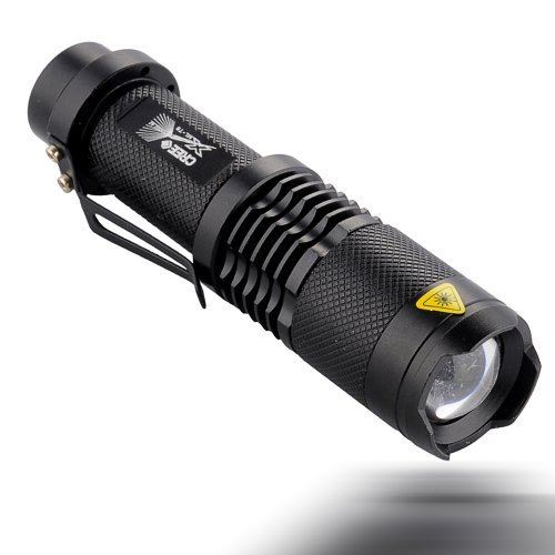 good UltraFire® Sk98 Adjustable Focus Zoom Ultrafire Cree Xml-t6 Led 1200lm Waterproof Flashlight Torch 3-modes(flashlight Only)
