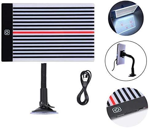 SODIAL D/éBosselage sans Peinture Outils FI LED Voiture Stripe Ligne Light Board Dent R/éFlecteur Dent Retrait Outil de R/éParation de la Lampe vec Support de R/éGlage et USB Ligne
