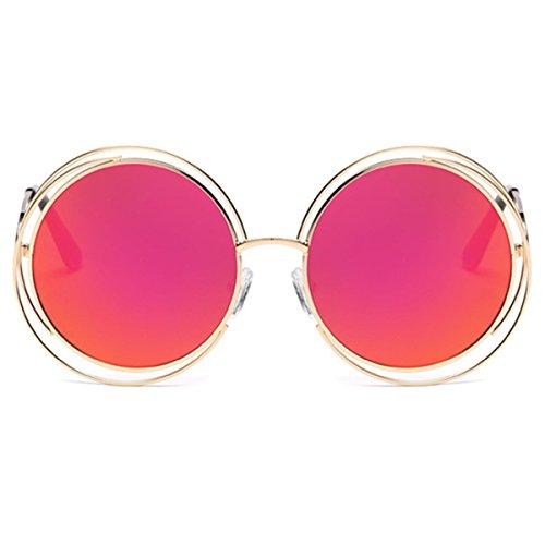 Redondas Tendencia Sol XGLASSMAKER Gafas Gafas E De De De Marco Sol Gafas Sol wxUfSHB6q