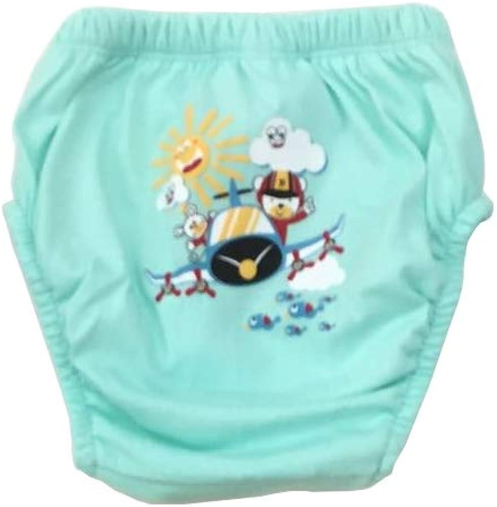 80 cm reutilizables ropa interior para aprender a ir al ba/ño Para ni/ños Juego de 6 pantalones de entrenamiento para aprender a ir al ba/ño Ozyol pa/ñales para ni/ños peque/ños