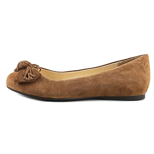 Jessica Simpson Womens Madian Ballet Flat Canela Brown