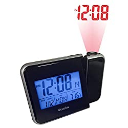 Westclox 72027 Lcd Digital Projection Alarm Clock
