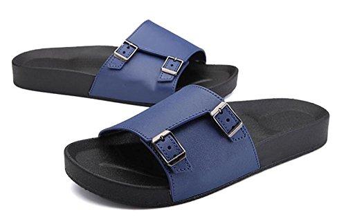 Nuovi pistoni di parola dell'inarcamento di estate di nuova tendenza i pattini maschii di polo dei sandali di corsa antisdrucciolevoli della spiaggia di grande formato , 2 , 43