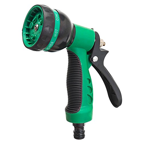 Elvoes Garden Hose Nozzle Heavy Duty Water Sprayer for Watering Lawn/Plants/Car Wash/ Showering Dogs