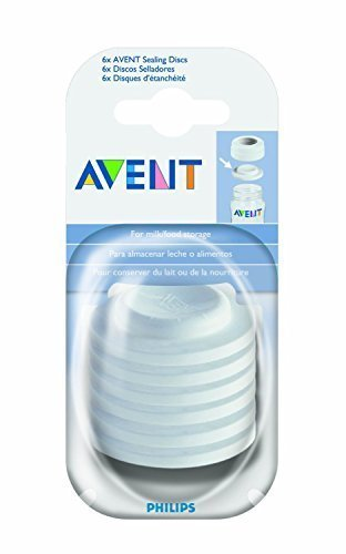 - Philips AVENT BPA Free Classic Bottle Sealing Discs - 2 Pack = 12 Discs