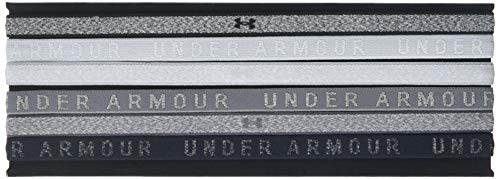 (Under Armour Women's Heathered Mini Headbands - 6 Pack, Overcast Gray (941)/Overcast Gray, One Size)