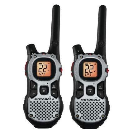 Walkie Talkie Motorola MJ-270MR p/Até 27 Milhas - Preto