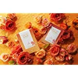 [Weekly Point Cosmetic] - FDA Registered Rose Edition Full Facial Skin Care Mask Sheet 3-Solutions Wrinkle Care, Brighten up, Moisture All in One (Pack of 10pcs)