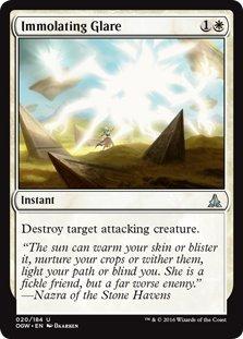 Magic: the Gathering - Immolating Glare (020/184) - Oath of the - Online Glares