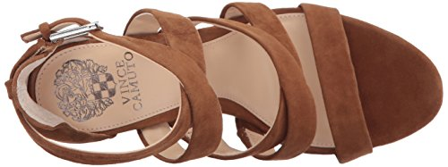 Vince Camuto Women's Catyna Heeled Sandal Cocoa Bear