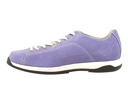 Akron - Focus 3195 - Wildleder Sneakers mit Vibram Sohle Lila