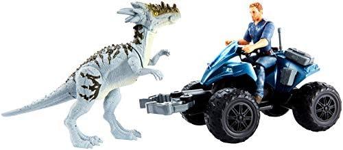 Dracorex Jurassic World Dino rivals Off-Road Tracker ATV Collector Card