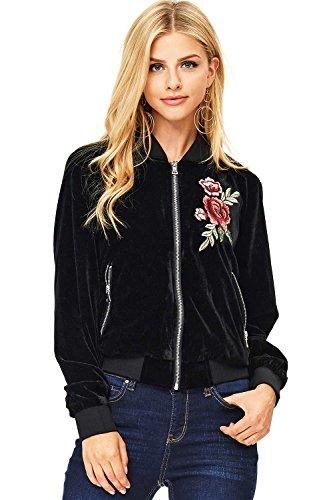 Rose Embroidered Jacket - 6