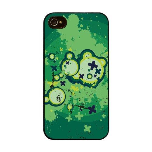 Diabloskinz H0026-0004-0036 Grunge Green Schutzhülle für Apple iPhone 4/4S