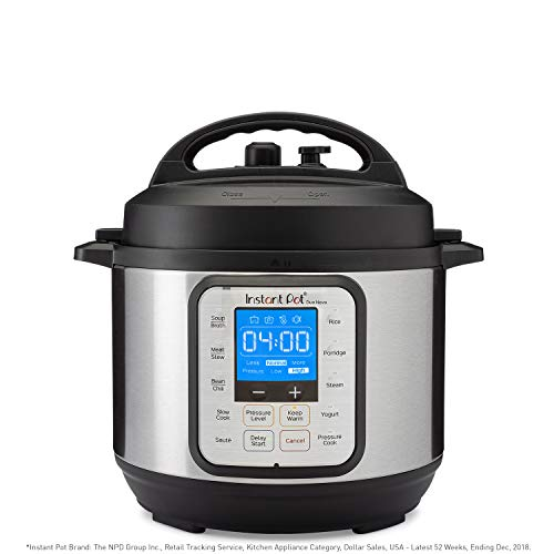Instant Pot Duo Nova 7-in-1 Electric Pressure Cooker, Slow Cooker, Rice Cooker, Steamer, Saute, Yogurt Maker, and Warmer|3 Quart|Easy-Seal Lid|14 One-Touch Programs