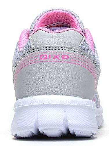 Sneakers Traspiranti In Mesh Traspiranti Per Donne Odema Scarpe Sportive Da Corsa Greypink