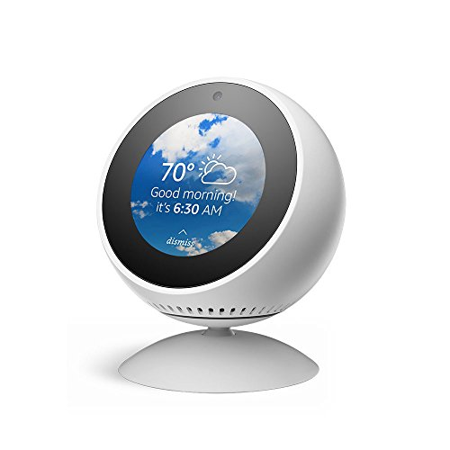 (Echo Spot Adjustable Stand - White)