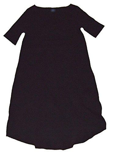 GAP Maternity Black Assymetrical Hem T-Shirt Dress (Gap Black Shirt)