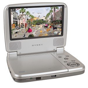 DX-P7DVD 7 Inch Portable