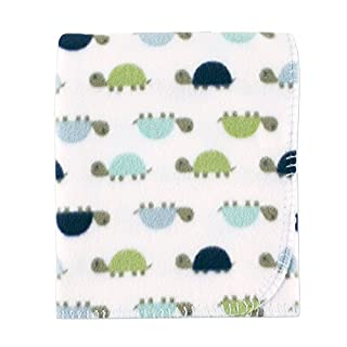 Luvable Friends Unisex Baby Fleece Blanket, Turtle, One Size