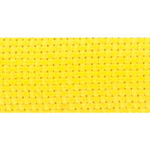 DMC GD1436B-3976 Bright Ideas Aida Cloth, Lemon Twist, 14 Count