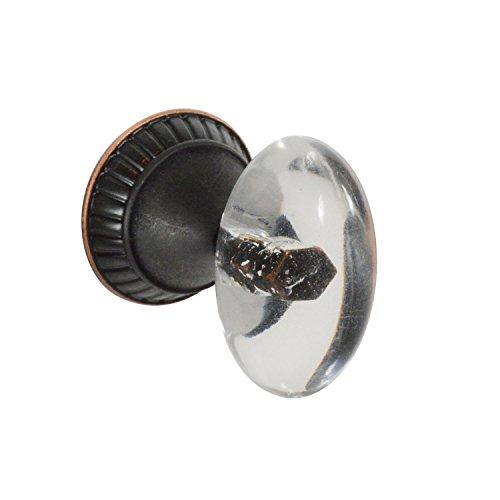 - Brainerd Clear Palermo Acrylic Knob, P23118W-472-C (1 Knob)