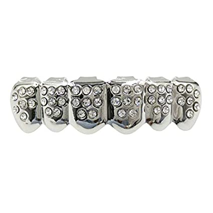 Amazon.com: Hip Support - Parrillas dentales doradas para ...