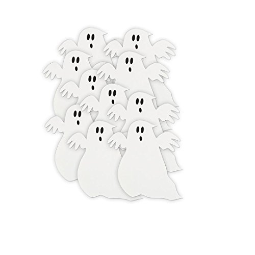 Paper Cutout Ghost Halloween Decorations product image