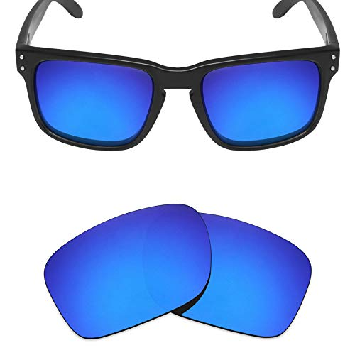 (Mryok Polarized Replacement Lenses for Oakley Holbrook - Deep Blue)