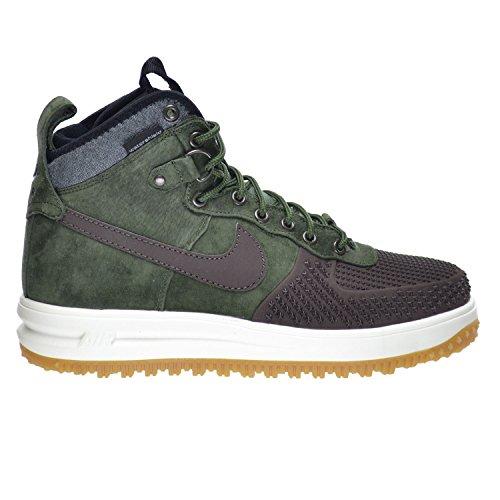 Nike Lunar Force 1 Duckboot Men's Shoes Baroque Brown/Army  Olive-Black-Sliver