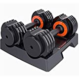 Dumbbell Adjustable Fitness Set for Male And Female Equipment Home Training Arm Muscle Gym Barbell revent Rolling And Injury for Home Gym Exercise Men Women Fitness Equipment for Strength Training